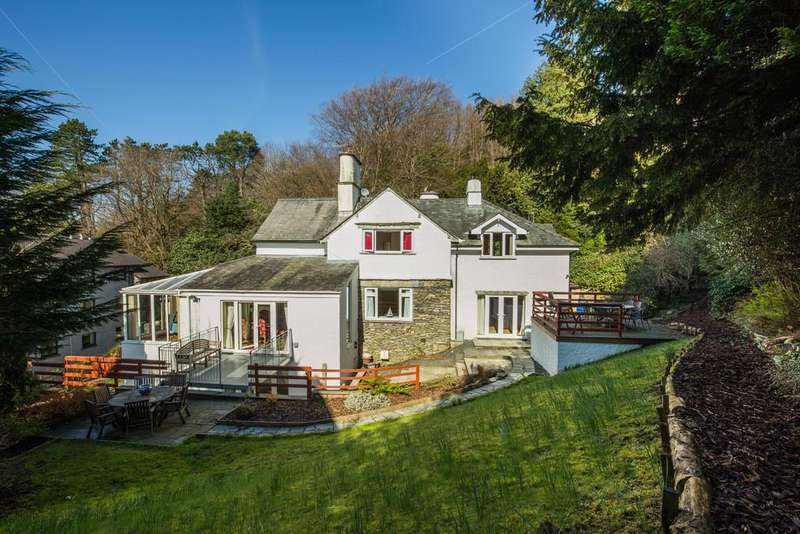 5 Bedrooms Detached House for sale in Clover Nook, Helm Road, Bowness on Windermere, Cumbria, LA23 3AA