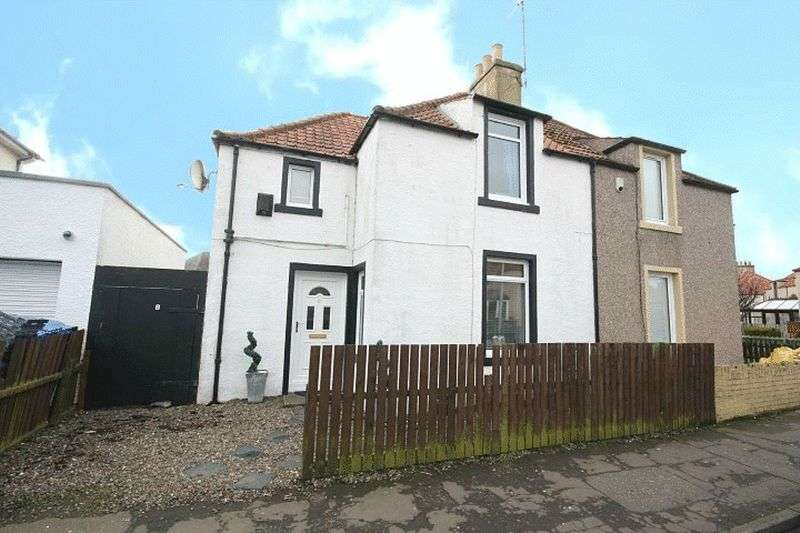 2 Bedrooms Semi Detached House for sale in Chemiss Road, Methilhill