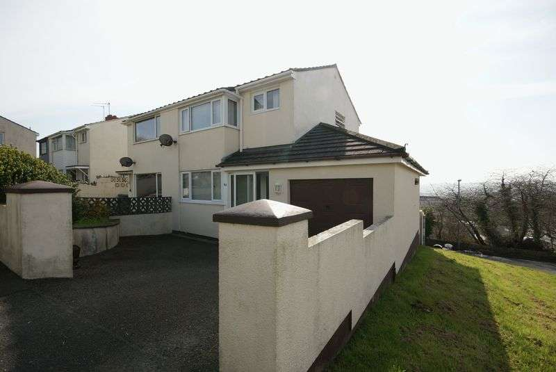 3 Bedrooms Semi Detached House for sale in Roman Drive, Bodmin