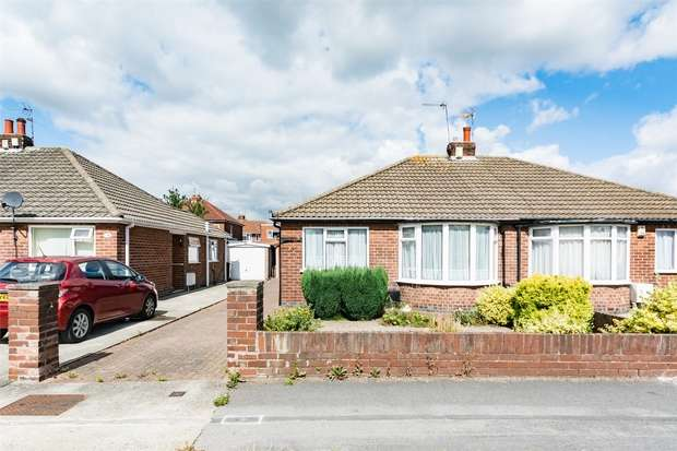 2 Bedrooms Semi Detached Bungalow for sale in Melton Avenue, Rawcliffe, YORK