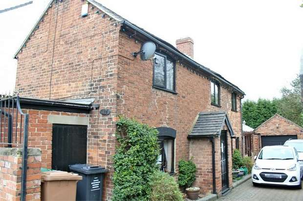 3 Bedrooms Detached House for sale in Bretby Road, Newhall, Swadlincote, Derbyshire