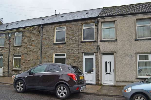 3 Bedrooms Terraced House for sale in Cardiff Road, Treforest, Pontypridd, Mid Glamorgan