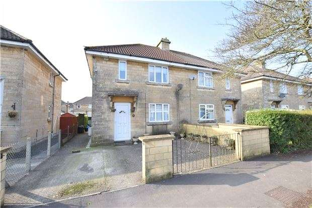 3 Bedrooms Semi Detached House for sale in Upper Bloomfield Road, BATH, Somerset, BA2 2RZ