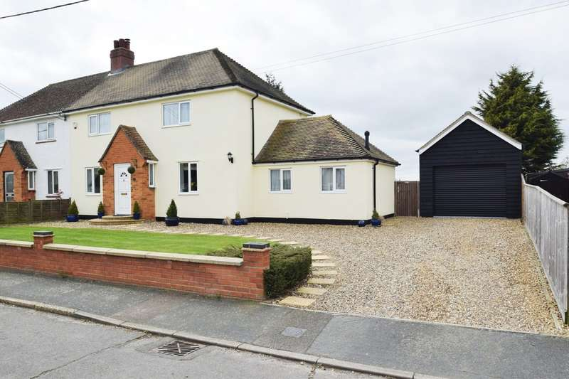 3 Bedrooms Semi Detached House for sale in School Avenue, Elmswell