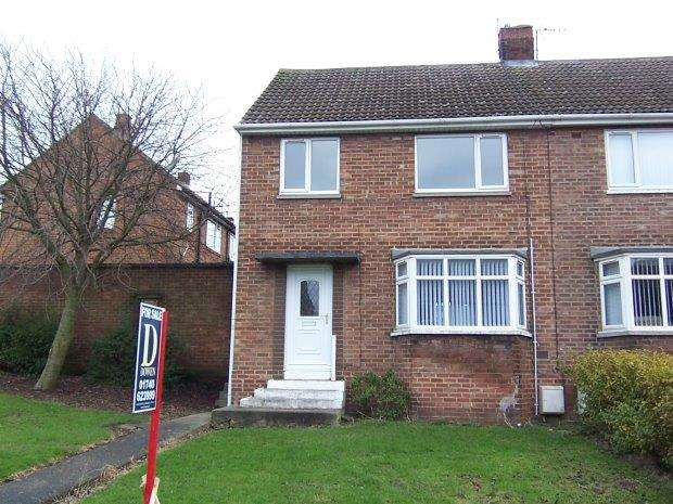 3 Bedrooms Semi Detached House for rent in MEADOW ROAD, TRIMDON VILLAGE, SEDGEFIELD DISTRICT