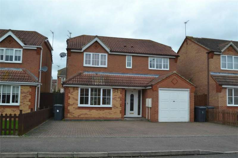 4 Bedrooms Detached House for sale in Garston Road, Corby, Northamptonshire