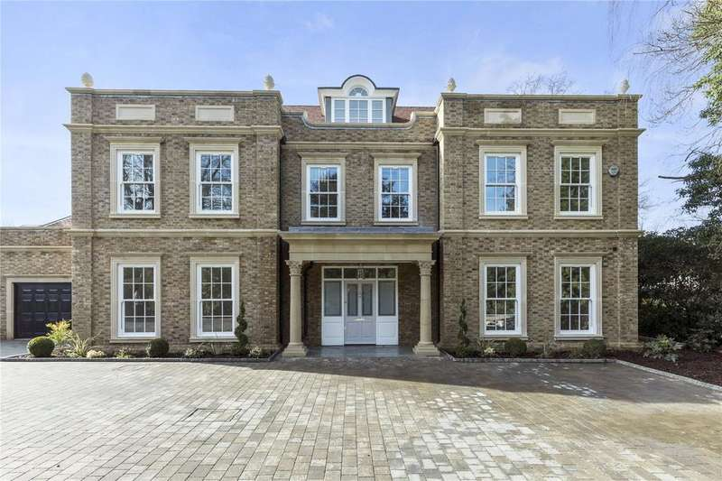 6 Bedrooms Detached House for sale in Pearmain Court, Hill View Road, Esher, Surrey, KT10