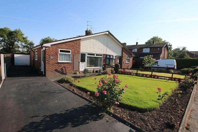 2 Bedrooms Semi Detached Bungalow for sale in Clifford Avenue, Longton