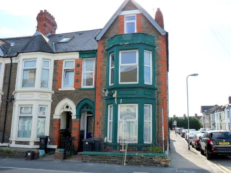 5 Bedrooms End Of Terrace House for rent in Mackintosh Place, Cardiff. CF24 4RR