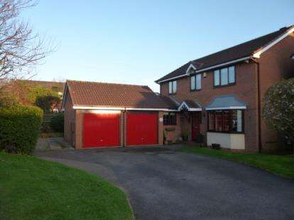 4 Bedrooms Detached House for sale in Lindisfarne, Glascote, Tamworth, Staffordshire