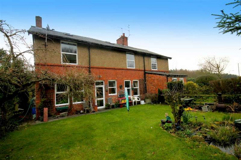 4 Bedrooms Semi Detached House for sale in Hartside Cottages, Trout Lane, Durham