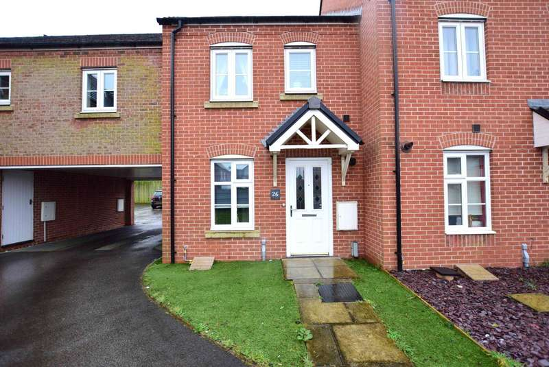 2 Bedrooms Mews House for sale in Fairfield Way, Wesham