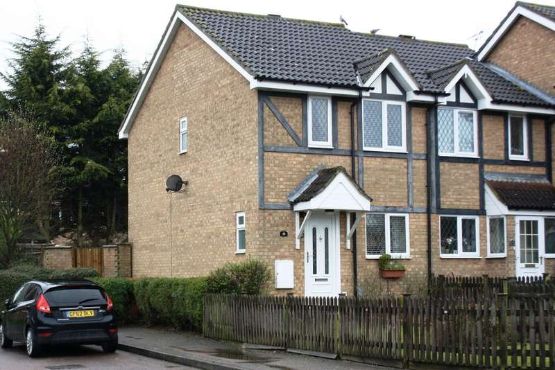 3 Bedrooms End Of Terrace House for sale in Shearwater, Stevenage