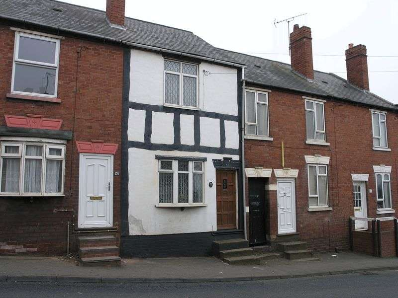 2 Bedrooms Terraced House for sale in Temple Street, Lower Gornal
