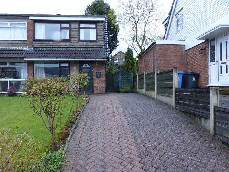 3 Bedrooms Semi Detached House for sale in Helston Drive, Heyside, Royton