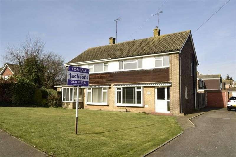 3 Bedrooms Semi Detached House for sale in Mierscourt Road, Rainham, Kent, ME8