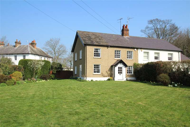 4 Bedrooms Semi Detached House for sale in Church Farm Cottages, Church Lane, Aldenham, Watford, WD25