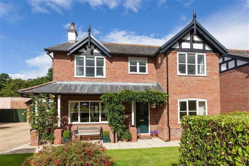 4 Bedrooms Detached House for sale in The Walled Garden, Bostock Hall