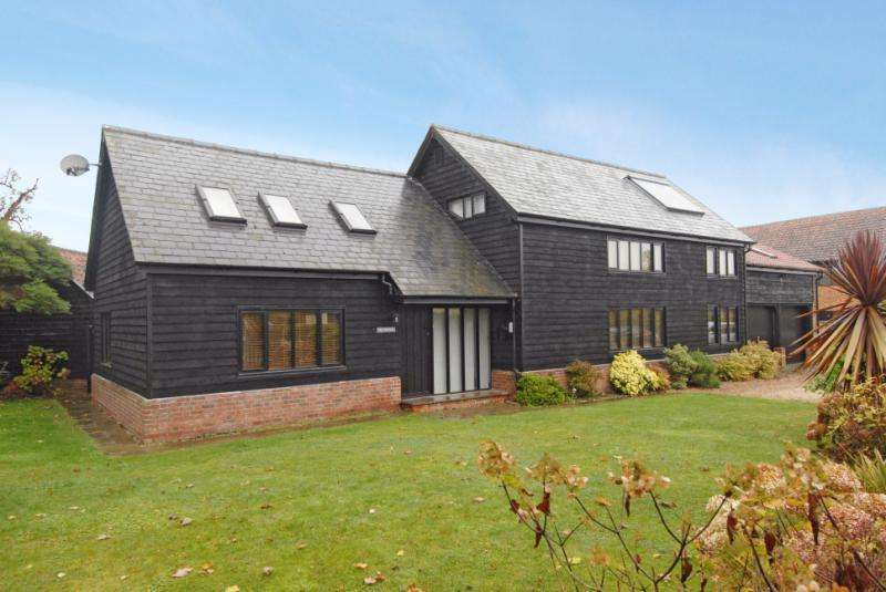5 Bedrooms Detached House for sale in The Street, Chedburgh, Bury St Edmunds, Suffolk, IP29