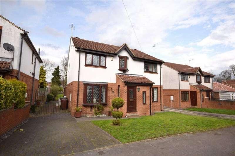 3 Bedrooms Semi Detached House for sale in Reinwood Avenue, Fearnville, Leeds