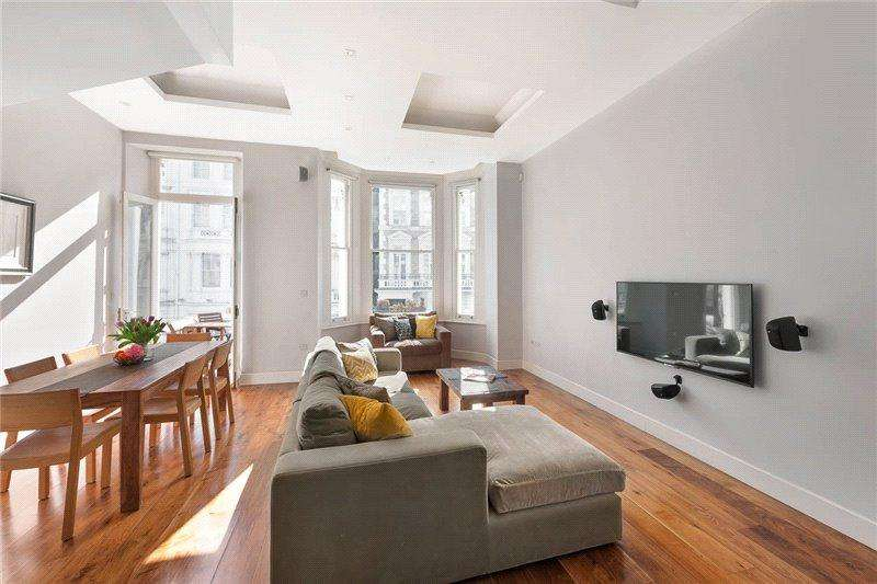 2 Bedrooms Maisonette Flat for sale in Lexham Gardens, London, W8
