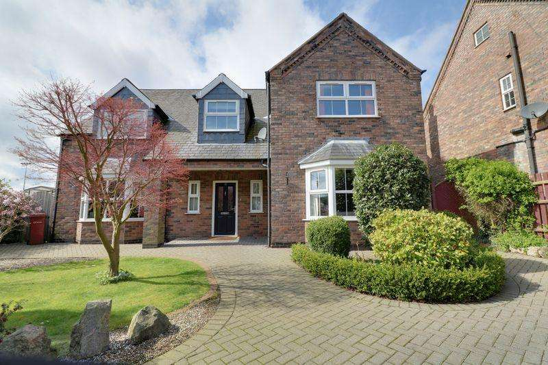 4 Bedrooms Detached House for sale in Brumby Hall Gardens, Scunthorpe