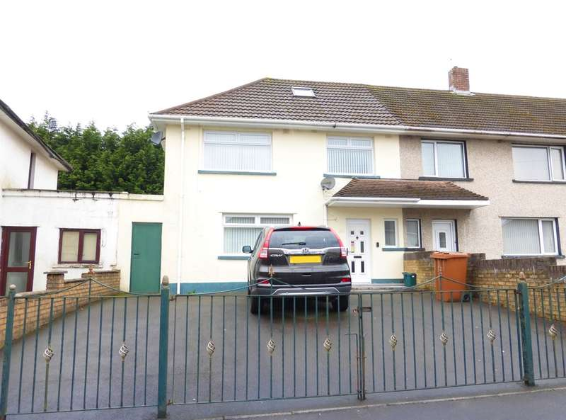 3 Bedrooms Semi Detached House for sale in Heol Y Felin, Bryncenydd, Caerphilly