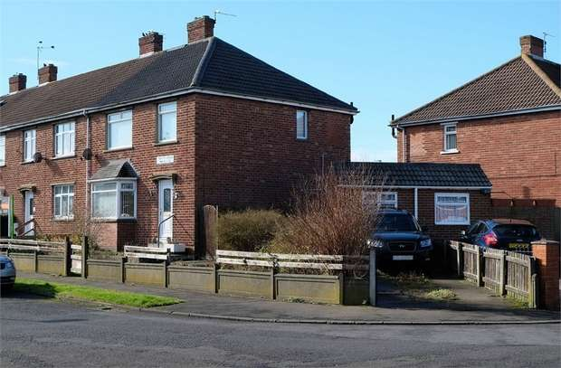 3 Bedrooms End Of Terrace House for sale in Twelfth Avenue, Chester le Street, Durham