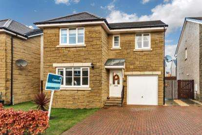 4 Bedrooms Detached House for sale in Chestnut Gait, Stewarton, East Ayrshire