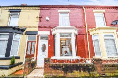 2 Bedrooms Terraced House for sale in Gidlow Road, Liverpool, England, United Kingdom, L13