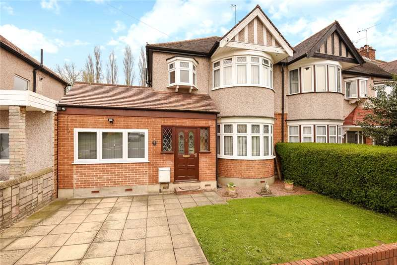 3 Bedrooms End Of Terrace House for sale in Torcross Road, South Ruislip, Middlesex, HA4