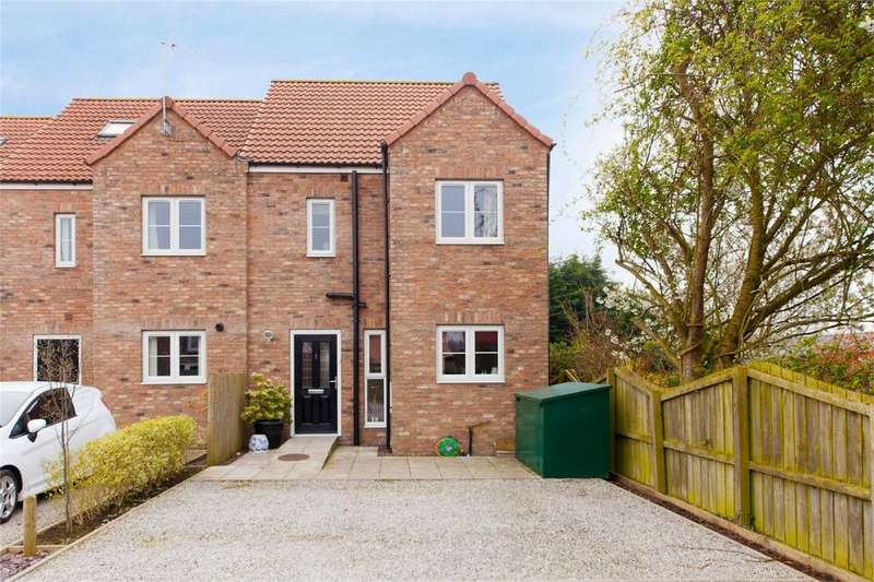 3 Bedrooms Semi Detached House for sale in Burleys Yard, High Street, Holme-on-Spalding-Moor, York