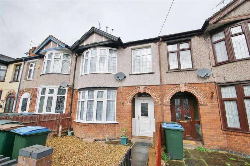 3 Bedrooms Terraced House for sale in Kelvin Avenue, Wyken, Coventry