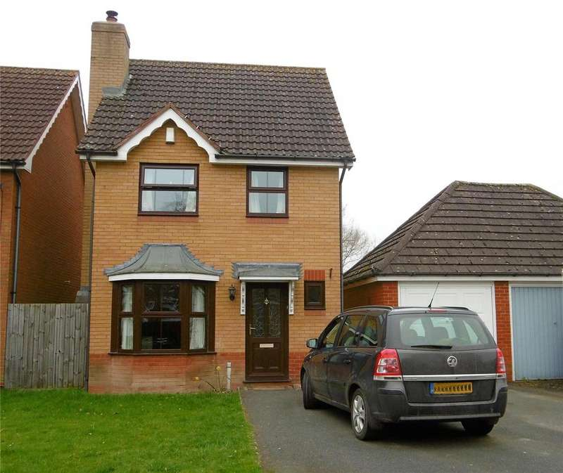 4 Bedrooms Detached House for sale in Langford Close, Ludlow, Shropshire