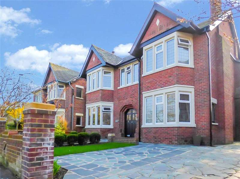 5 Bedrooms Detached House for sale in West Park Drive, Stanley Park, Blackpool