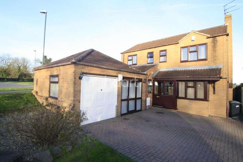 4 Bedrooms Detached House for sale in Pavilion Road, Littleover, Derby