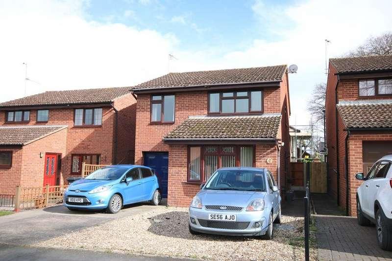 4 Bedrooms Detached House for sale in Cotswold Drive, Kings Acre, Hereford, HR4