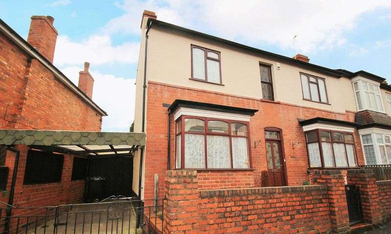3 Bedrooms Semi Detached House for sale in Belmont Road, Wollescote