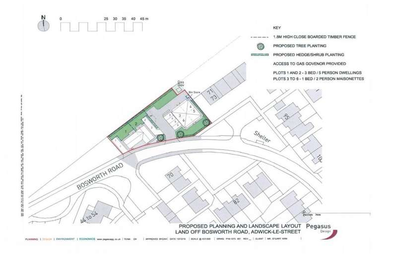 Land Commercial for sale in Bosworth Road, Adwick-Le-Street, Doncaster, DN6