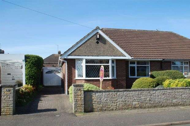 2 Bedrooms Semi Detached Bungalow for sale in Muscott Lane, Duston, Northampton NN5 6HR