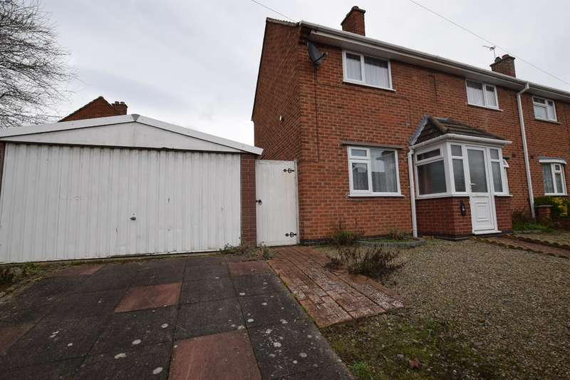 3 Bedrooms Semi Detached House for sale in Iliffe Avenue, Oadby, Leicester, LE2 5HR