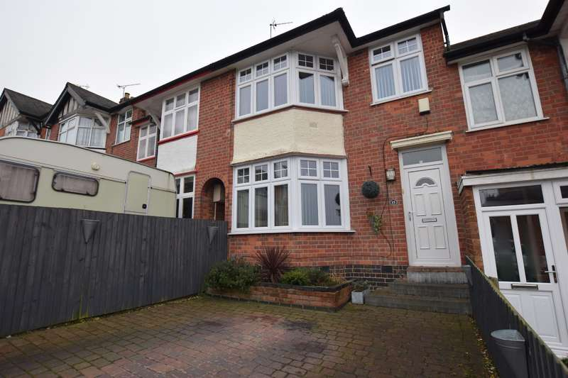 3 Bedrooms Town House for sale in Crown Hills Rise, Leicester, LE5 5DG