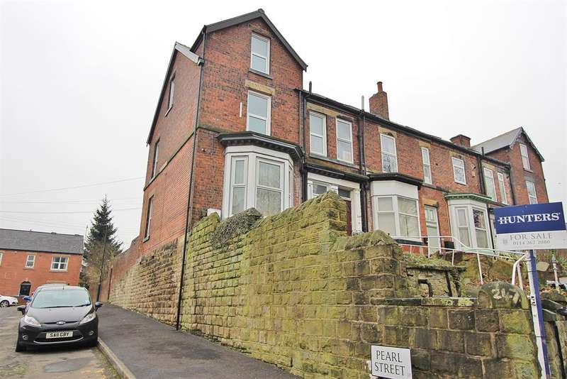 4 Bedrooms End Of Terrace House for sale in Cemetery Road, Sharrow Head, Sheffield, S11 8FS