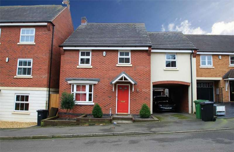 4 Bedrooms Detached House for sale in Attingham Drive, DUDLEY, West Midlands