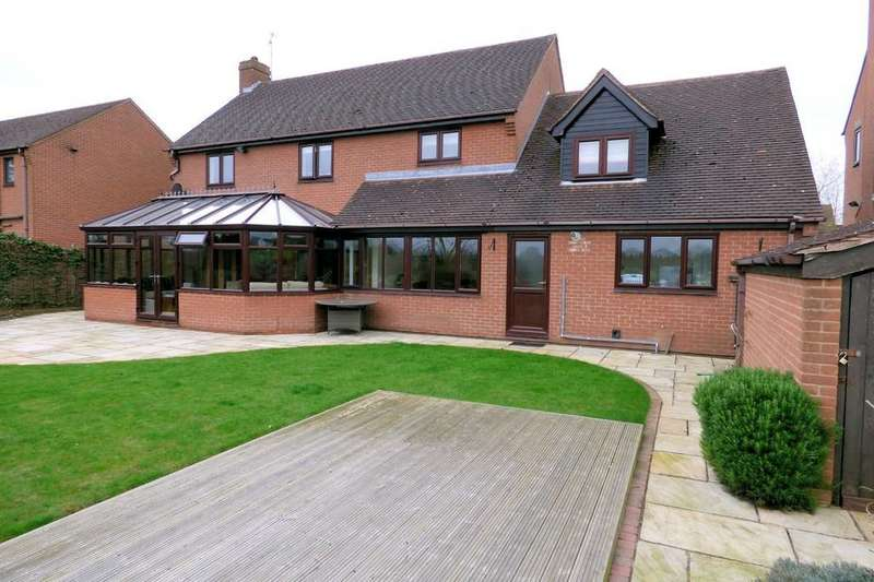5 Bedrooms Detached House for sale in Risborrow Close, Etwall
