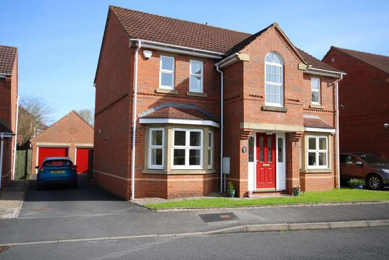 4 Bedrooms Detached House for sale in Wye View, Ledbury, HR8
