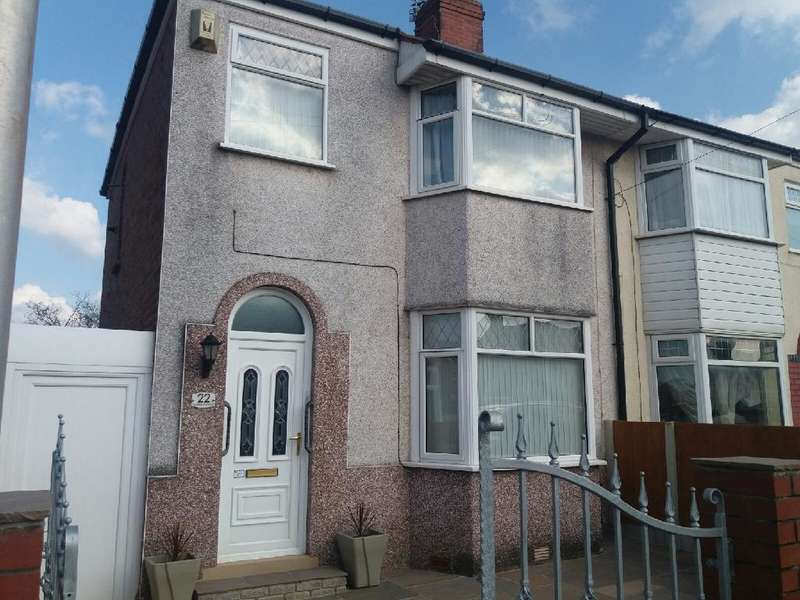 3 Bedrooms Semi Detached House for sale in Seattle Avenue, Blackpool, FY2 0PW