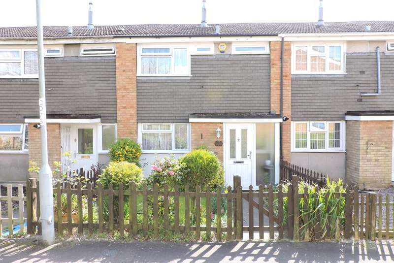 3 Bedrooms Terraced House for sale in Fitzwarin Close, Luton, Bedfordshire, LU3 3RY