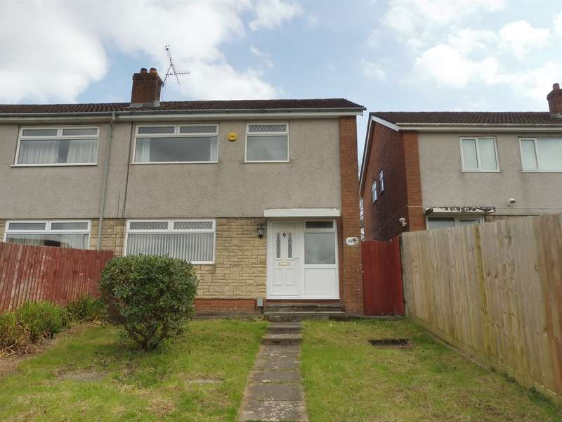 4 Bedrooms Semi Detached House for sale in Coeden Dal, Cardiff