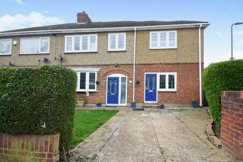 4 Bedrooms Semi Detached House for sale in Parkfield Road, Northolt